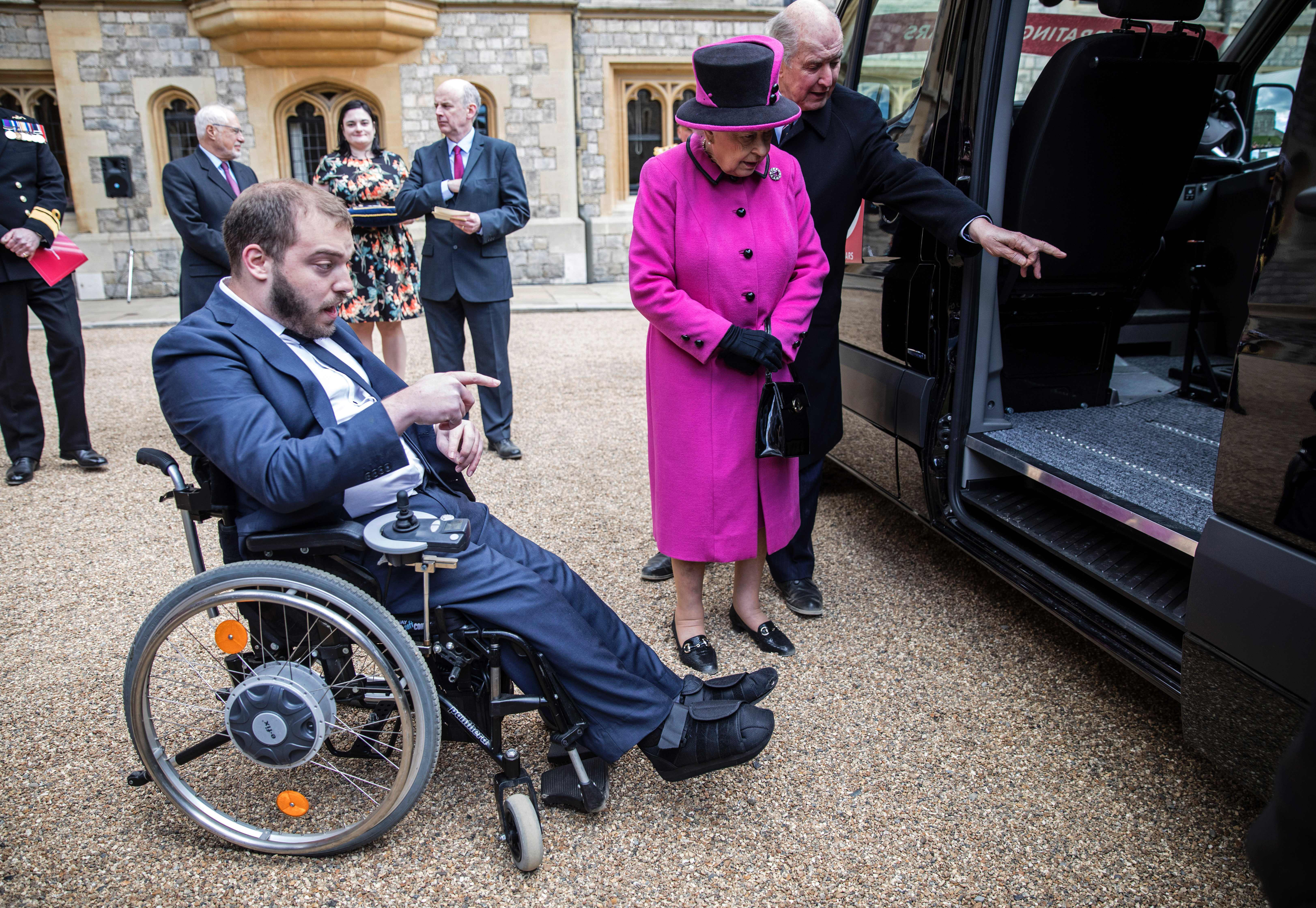 BRITAIN-ROYALS-DISABILITY