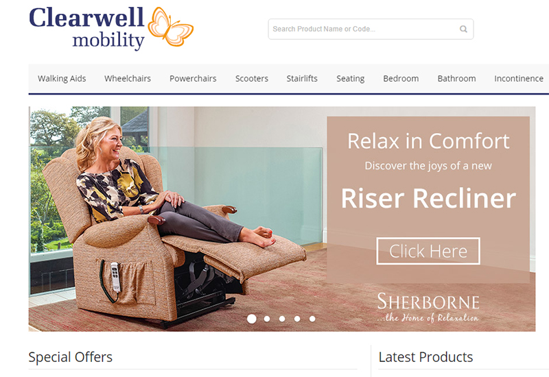 clearwell mobility web