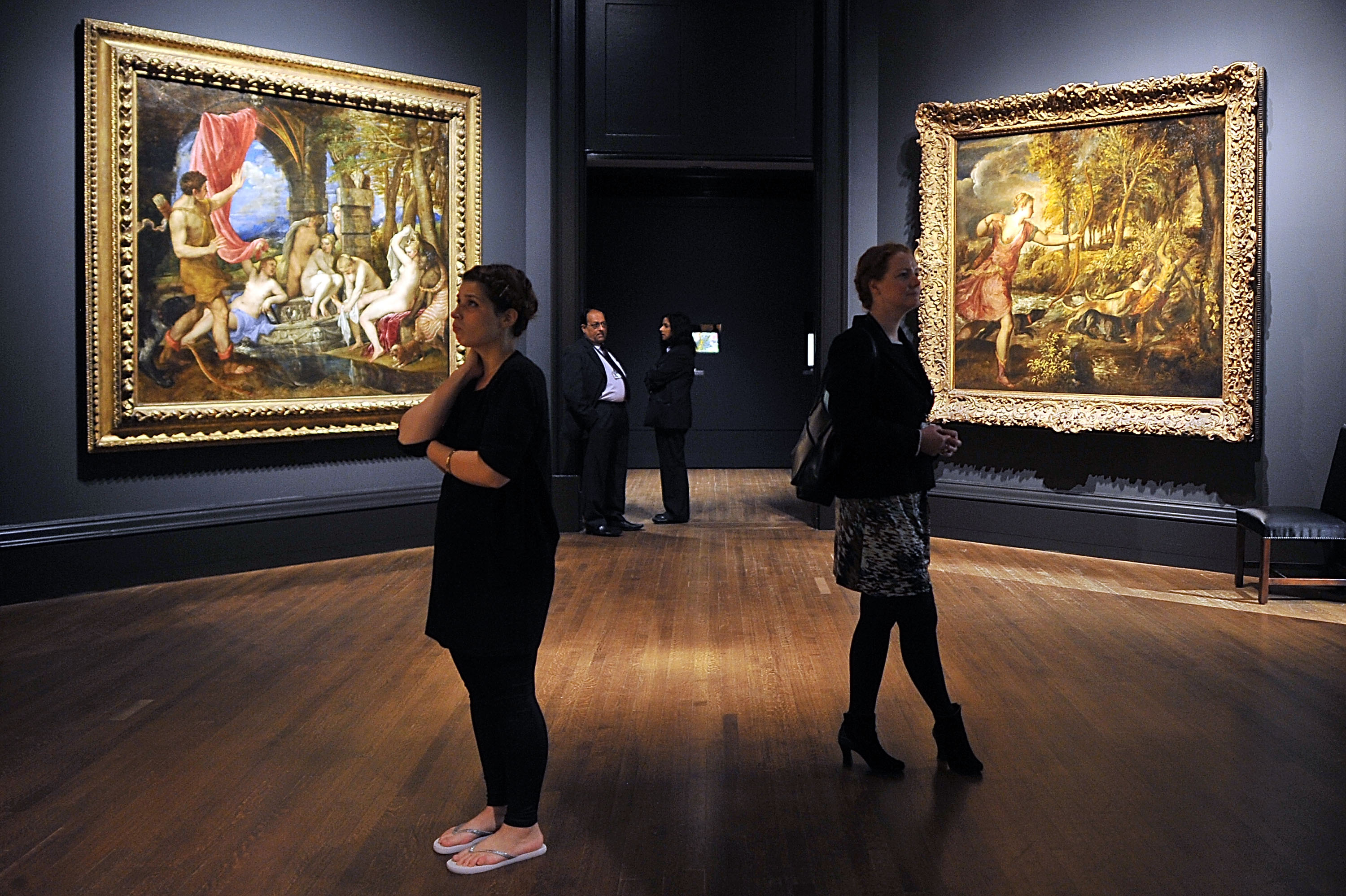 Press Preview Of The National Gallery's 'Metamorphosis: Titian 2012' Exhibition