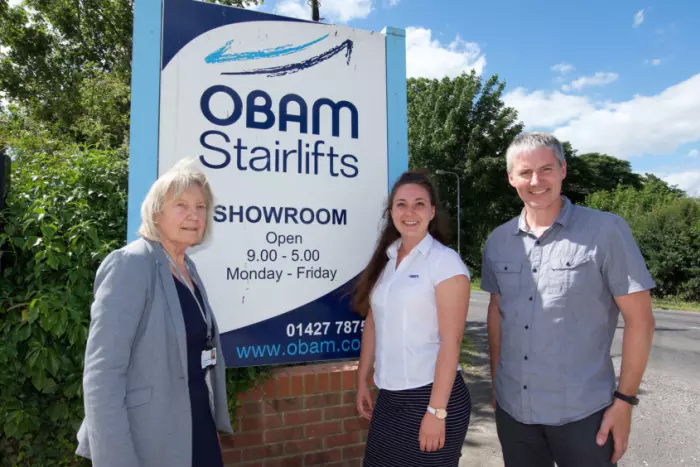 obam stairlifts west lindsey district council credit