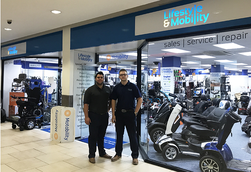 lifestyle and mobility darren macey and lenny bibby