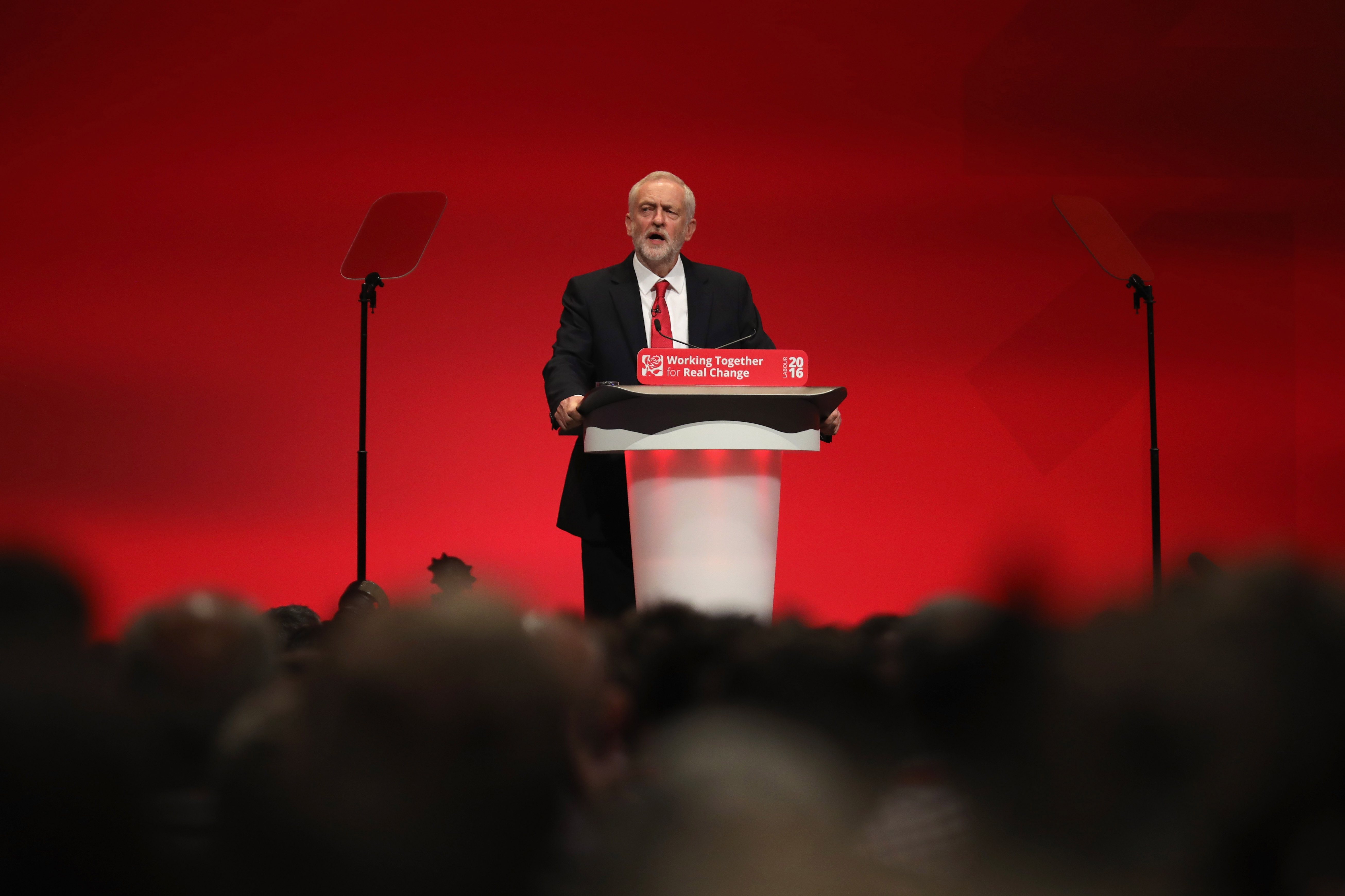 Labour Leader Jeremy Corbyn Delivers His Keynote Speech To Party Conference