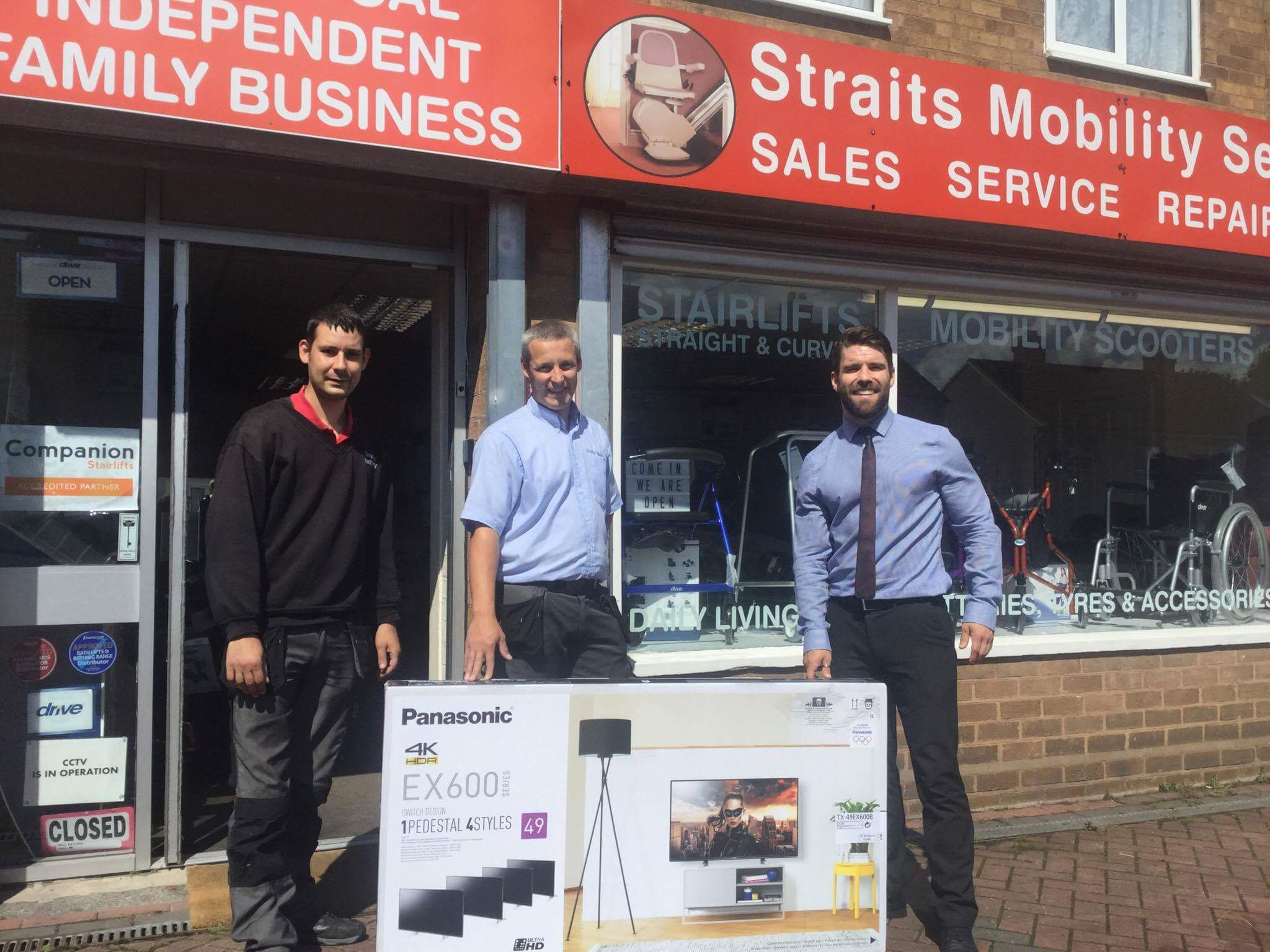 Straits Mobility Companion Stairlifts