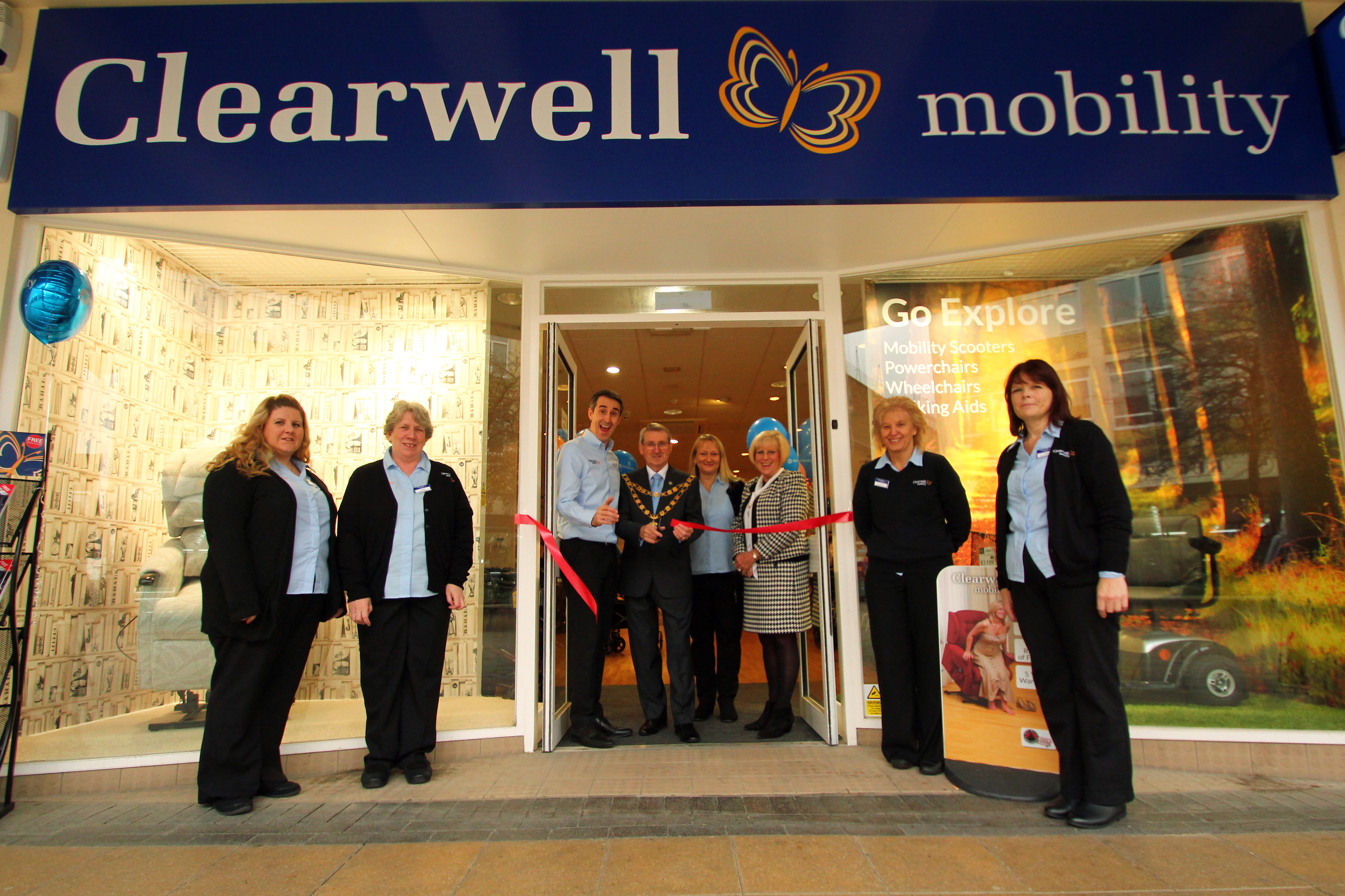 Clearwell Mobility Crawley