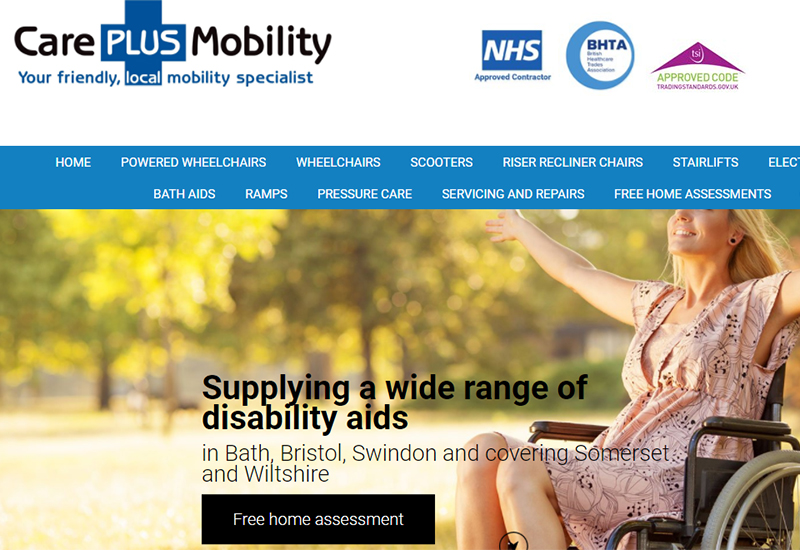 care plus mobility website