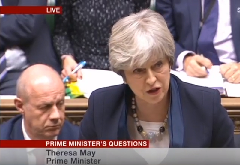 theresa may omq screen shot