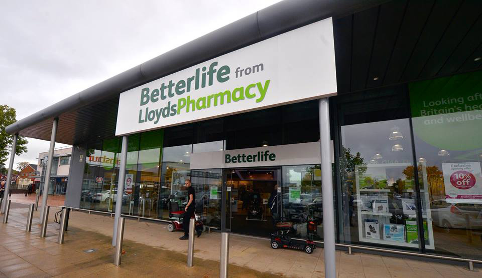 Betterlife Lloyds Pharmacy shop