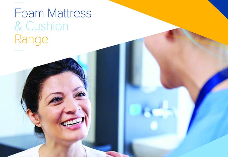 Foam Mattress Brochure Cover