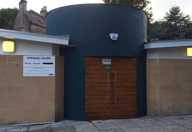 bingley town council public toilets