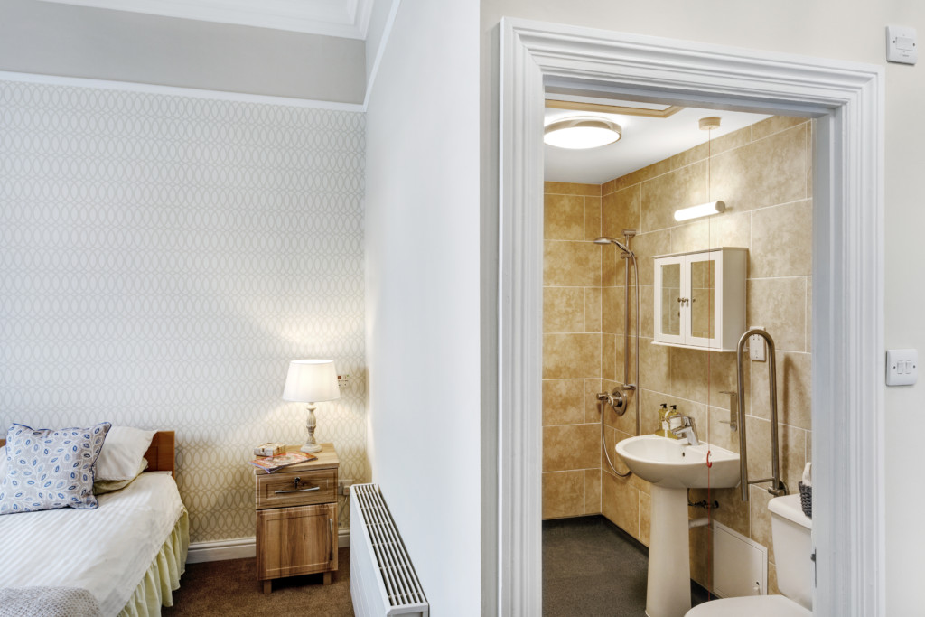 Interior photo of The Granby care home for Impey wet room specia