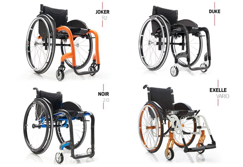 progeo wheelchair range