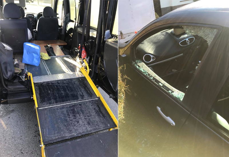 shropshire mobility repairs theft