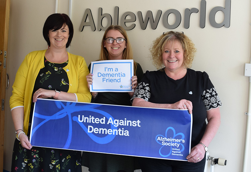 ableworld dementia awareness week 2018