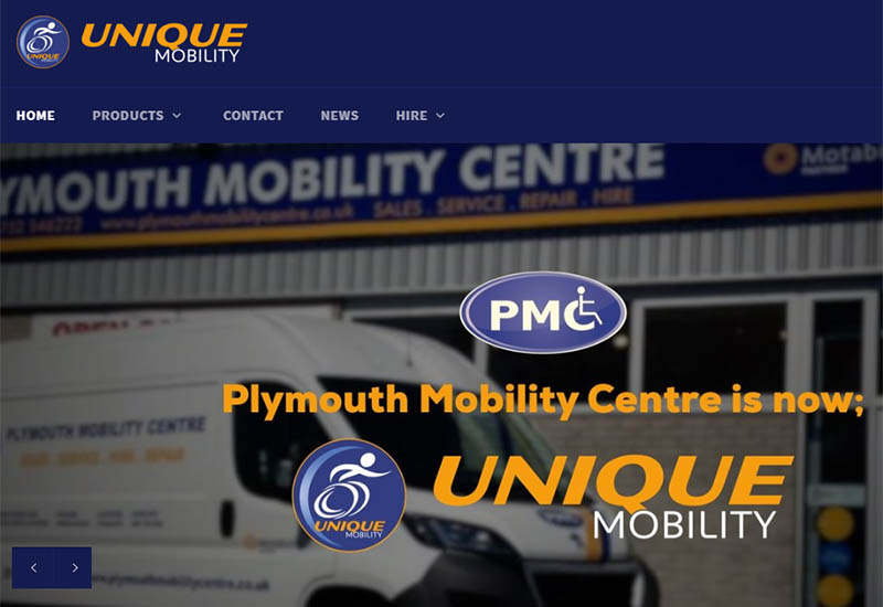 unique mobility website