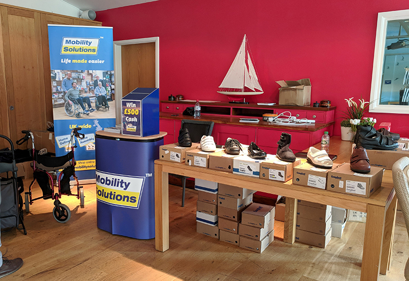 mobility solutions pop up shop