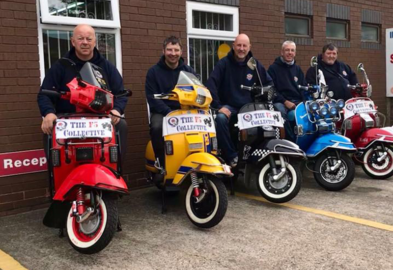 stechford mobility -ideas in action- vespa charity ride 2