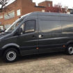 Mercedes-Benz Grey Sprinter Scooterpac