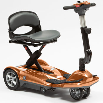 drive auto folding dual wheel scooter