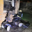 derbyshire fire and rescue scooter fire