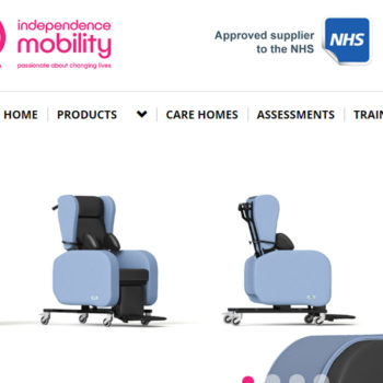 independent mobility leeds scrn sht