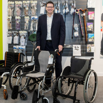 James Parramore from Ross Care Independent  Living Failsworth Manchester