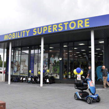 ableworld stafford shopfront