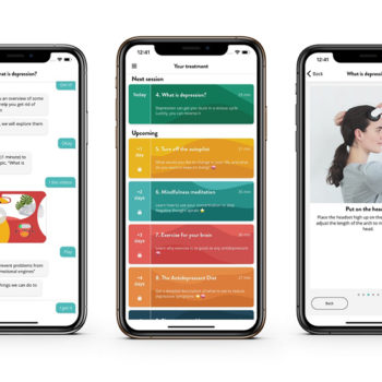 Chatbot therapy app