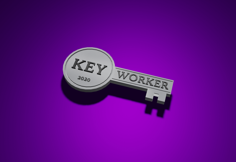 Key worker badge MASIS