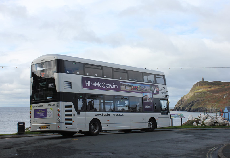 Isle of man bus