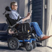 Dietz-Power Sango powered wheelchair