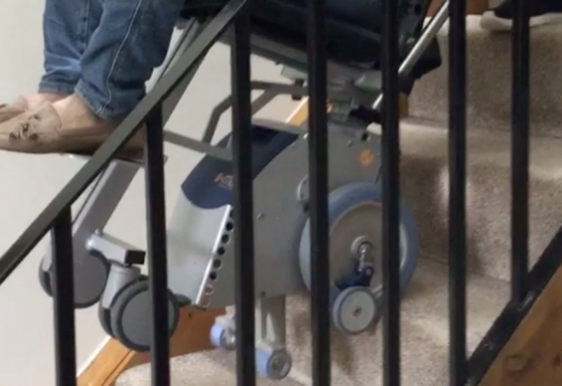 AAT powered stairclimber